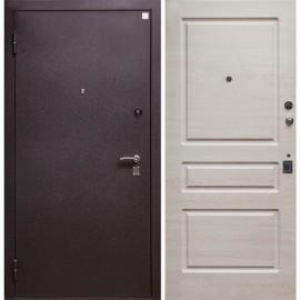 Входная дверь Алмаз 14 Капучино три контура уплотнения