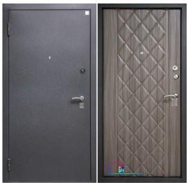 Входная дверь Алмаз 14 Палисандр три контура уплотнения