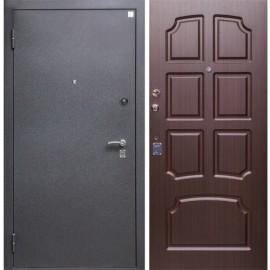 Входная дверь Алмаз 14 Венге три контура уплотнения
