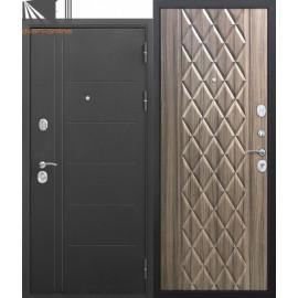Входная дверь Троя 3 контура Палисандр темный