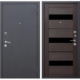 Входная дверь Гарда МУАР ЦАРГА 22 мм Тёмный кипарис