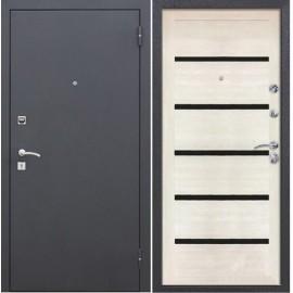 Входная дверь Гарда МУАР ЦАРГА 22 мм Лиственница мокко