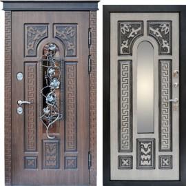 """Входная дверь """"Граф Glass"""""""