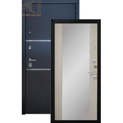 Входная дверь Конте с зеркалом