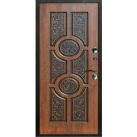"""Входная дверь """"Круги"""""""