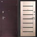 Входная дверь Лидер 2 три притвора