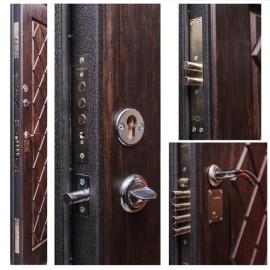 Входная дверь «Малахит» с вертикальным приводом