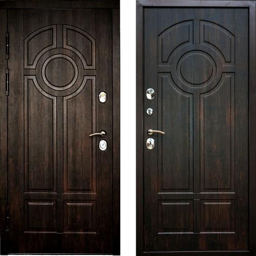 Дверь облагороженная с обеих торон