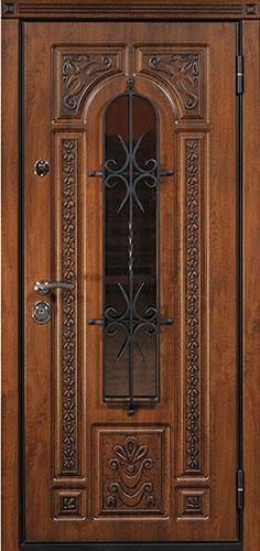 Входная дверь Napoli, внешняя сторона