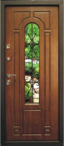 Входная дверь Napoli, внутненяя сторона